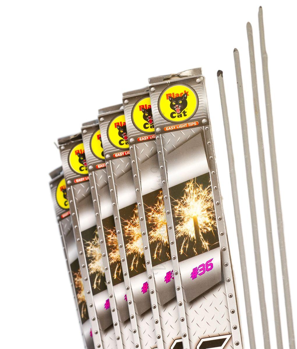 36_inch_black_cat_metal_sparklers 1020 compressor bundles of sparklers