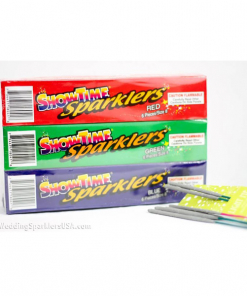 Colored Sparklers 8 Inch