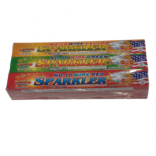 10 Inch Colored Sparklers